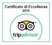 Certificato TripAdvisor 2018